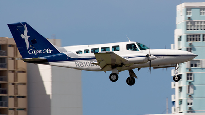 A picture of N810BW - Cessna 402C - Cape Air - © Abdiel O. Arroyo Campos