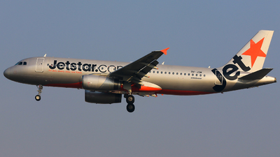 9V-JSM - Airbus A320-232 - Jetstar Asia Airways