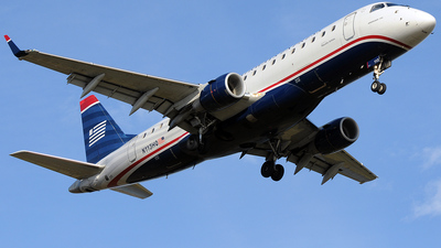 N113HQ - Embraer 170-200LR - US Airways Express (Republic Airlines)