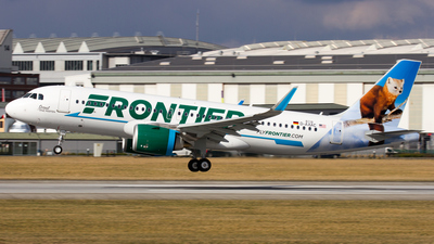 D-AXAC - Airbus A320-251N - Frontier Airlines