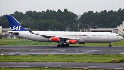 OY-KBD - Airbus A340-313 - Scandinavian Airlines (SAS)
