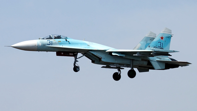 31 - Sukhoi Su-27SM Flanker - Russia - Air Force