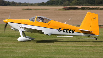 G-CECV - Vans RV-7 - Private