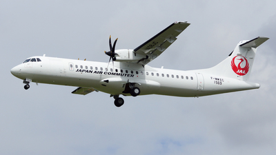 F-WWEC - ATR 72-212A(600) - Japan Air Commuter (JAC)