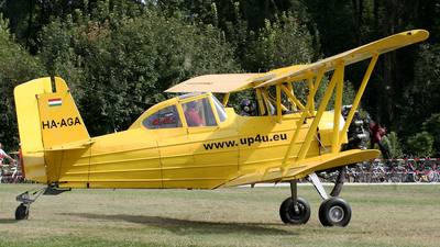 HA-AGA - Grumman G-164B Ag-Cat - Private