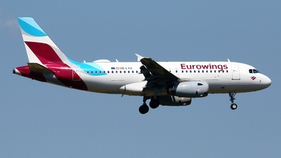 OE-LYU - Airbus A319-132 - Eurowings Europe