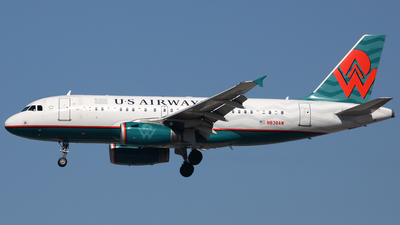 N838AW - Airbus A319-132 - US Airways