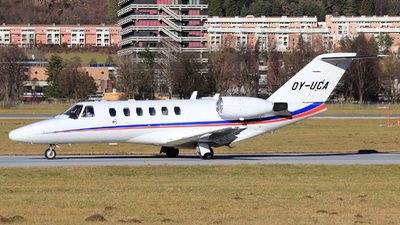 OY-UCA - Cessna 525A CitationJet 2 - Air Alsie
