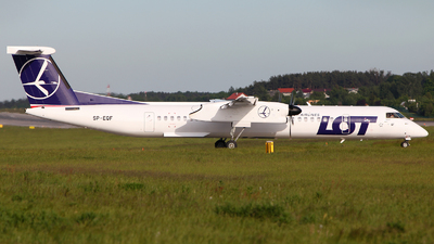 SP-EQF - Bombardier Dash 8-Q402 - LOT Polish Airlines