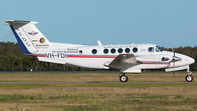 VH-FDI - Beechcraft B200C Super King Air - Royal Flying Doctor Service of Australia (Queensland Section)