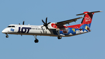 SP-EQH - Bombardier Dash 8-Q402 - LOT Polish Airlines