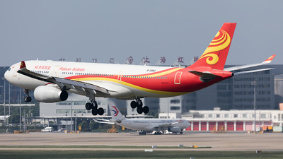 A picture of B5950 - Airbus A330343 - Hainan Airlines - © liang TR