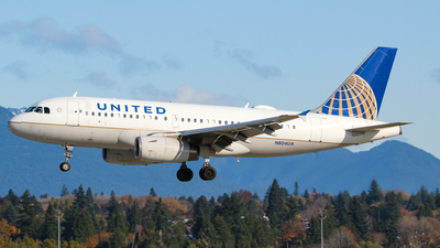 A picture of N804UA - Airbus A319131 - United Airlines - © Brandon Siska
