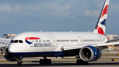 G-ZBKE - Boeing 787-9 Dreamliner - British Airways
