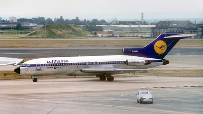 D-ABIZ - Boeing 727-30C - Lufthansa