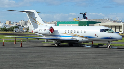 N3438F - Raytheon Hawker 4000 Horizon - Private