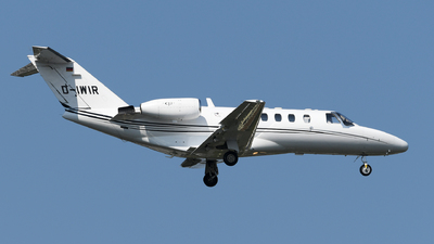 D-IWIR - Cessna 525A CitationJet 2 - Ohlair Charterflug