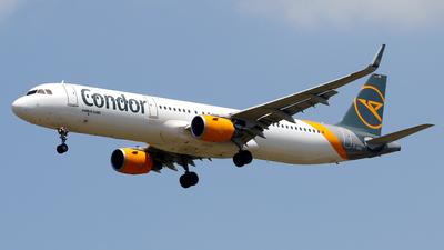 A picture of DAIAC - Airbus A321211 - Condor - © Javier Rodriguez - Amics de Son Sant Joan