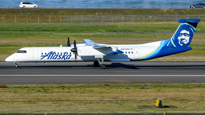 A picture of N432QX - De Havilland Canada Dash 8400 - Alaska Airlines - © TriSpotterWA