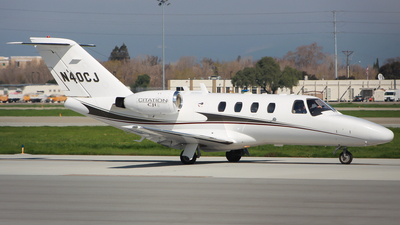 N40CJ - Cessna 525 CitationJet 1 - Private