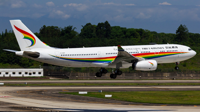 A picture of B1047 - Airbus A330243 - Tibet Airlines - © zzy020213