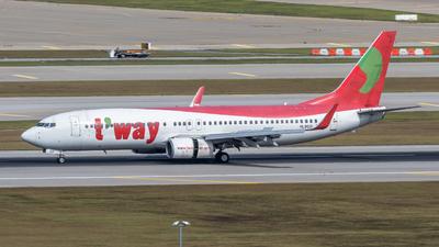 HL8021 - Boeing 737-8GJ - T'Way Air