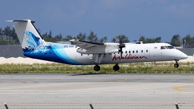 A picture of 8QIAK - De Havilland Canada Dash 8300 - Maldivian - © Alberto Cucini