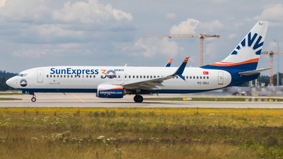 A picture of TCSEJ - Boeing 7378HC - SunExpress - © TG Aviation Spotter