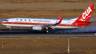 B-1425 - Boeing 737-89P - China United Airlines
