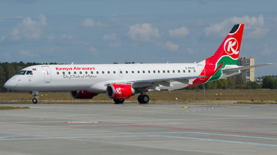 2-PKCD - Embraer 190-100LR - Kenya Airways