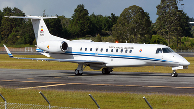 FAC1218 - Embraer ERJ-135BJ Legacy 600 - Colombia - Air Force
