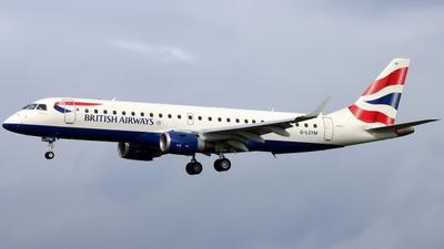 A picture of GLCYM - Embraer E190SR - British Airways - © Ethan Allen