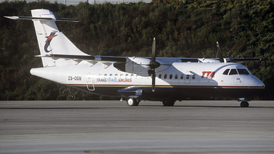 ZS-OSN - ATR 42-320 - Trans Travel Airlines (TTA)