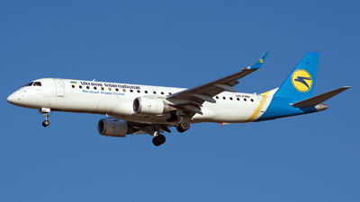 UR-EME - Embraer 190-100LR - Ukraine International Airlines