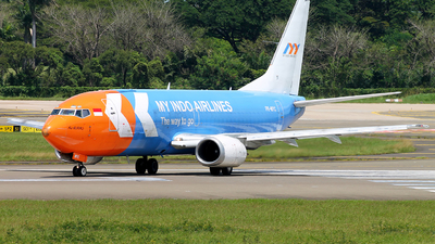PK-MYC - Boeing 737-39K(SF) - My Indo Airlines