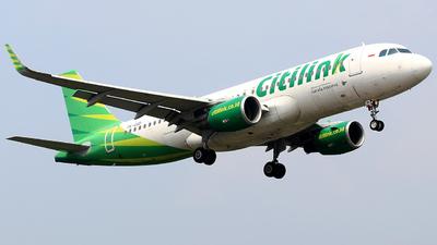 A picture of PKGQD - Airbus A320214 - Citilink - © ARafiNA