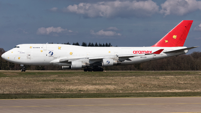 OM-ACG - Boeing 747-409(BDSF) - Air Cargo Global