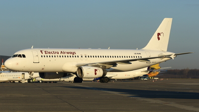 LZ-EAB - Airbus A320-231 - Electra Airways