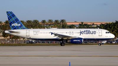 N520JB - Airbus A320-232 - jetBlue Airways
