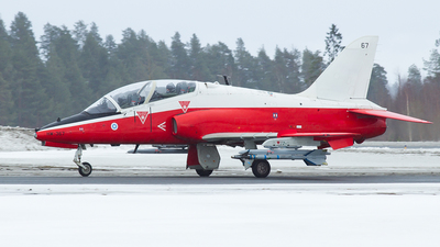 HW-367 - British Aerospace Hawk Mk.66 - Finland - Air Force