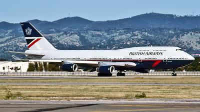 G-BNLC - Boeing 747-436 - British Airways