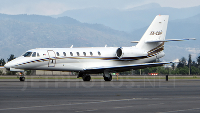 A picture of XACDF - Cessna 680 Citation Sovereign - [6800206] - © francisco pimentel