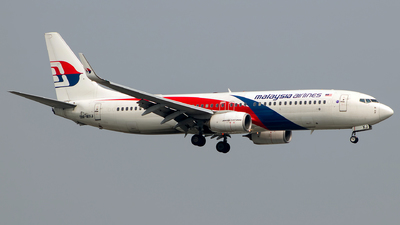 9M-MXJ - Boeing 737-8H6 - Malaysia Airlines