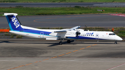 JA850A - Bombardier Dash 8-Q402 - ANA Wings