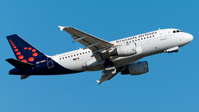 OO-SSA - Airbus A319-111 - Brussels Airlines