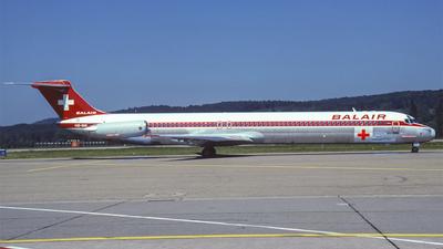 HB-INR - McDonnell Douglas MD-82 - Balair