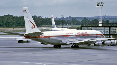 N372WA - Boeing 707-373C - World Airways