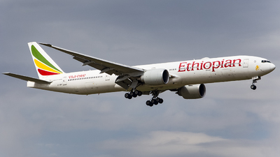 A picture of ETAPY - Boeing 77736N(ER) - Ethiopian Airlines - © PAUL__GAO