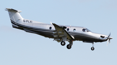 G-FLXI - Pilatus PC-12/47E - Private