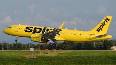 A picture of N932NK - Airbus A320271N - Spirit Airlines - © DJ Reed - OPShots Photo Team